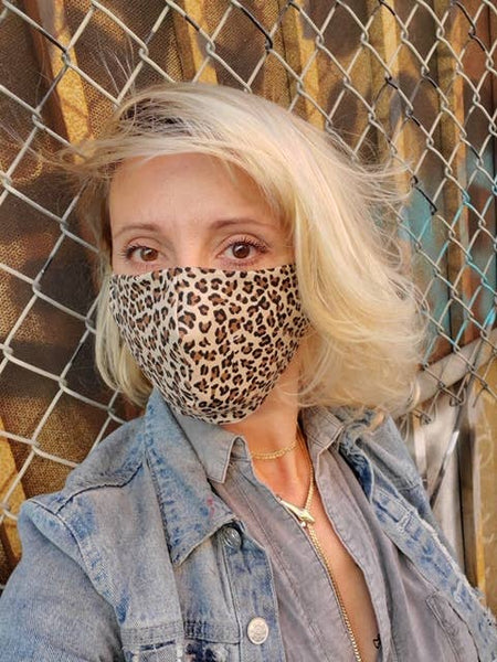 Protective Leopard Face Mask