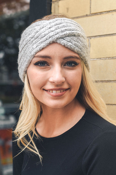 Cross Over Knit Headband