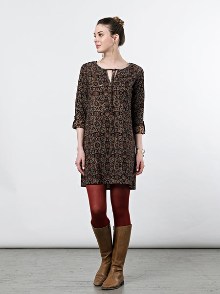 Mata Traders Tuscan Tunic Dress Paisley