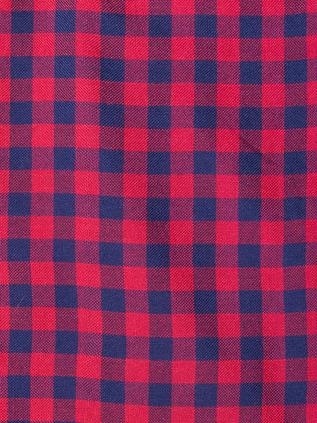 Mata Traders Emma Dress Red Gingham fabric