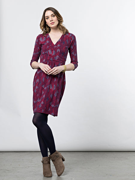 Mata Traders Geneva Dress Fuchsia