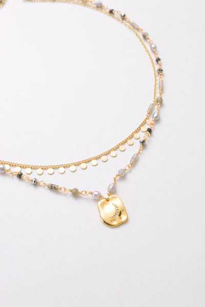 Nakamol Harper Layered Necklace