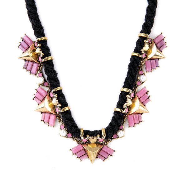 Nautical Pink Necklace