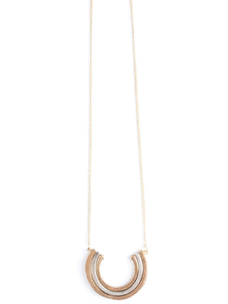 Curved Lines Necklace