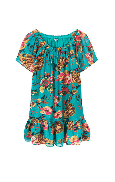 Amenapih Rolly Turquoise Dress