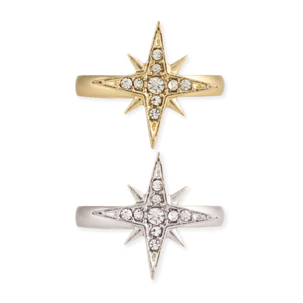 Ring - Twinkling Star Crystal Ring - Girl Intuitive - zad -
