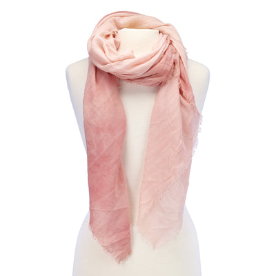 Soft Ombre Scarf coral