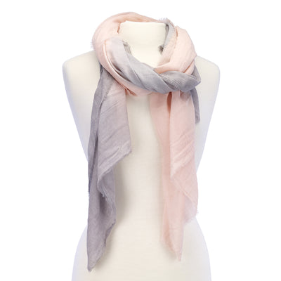 Soft Ombre Scarf grey