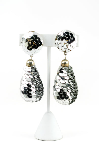 80s Sparkle Earrings - Girl Intuitive
