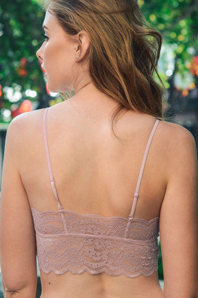 Wide Lace Bandeau