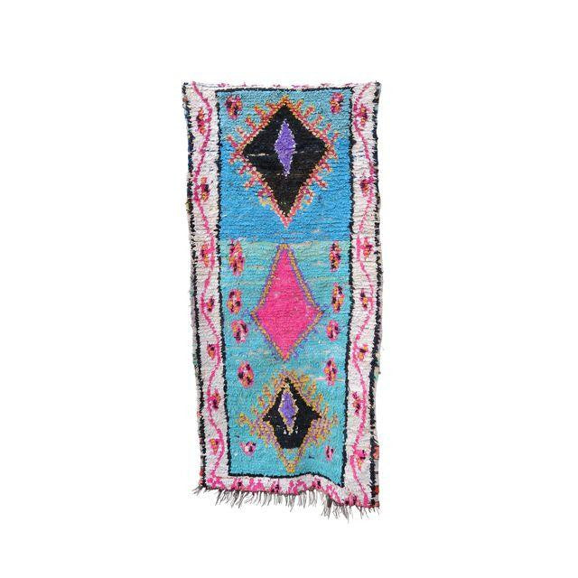 'Skylar'  Moroccan Boucherouite Rug - Maven Collection