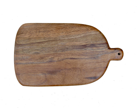 Curved Walnut Bread Board
