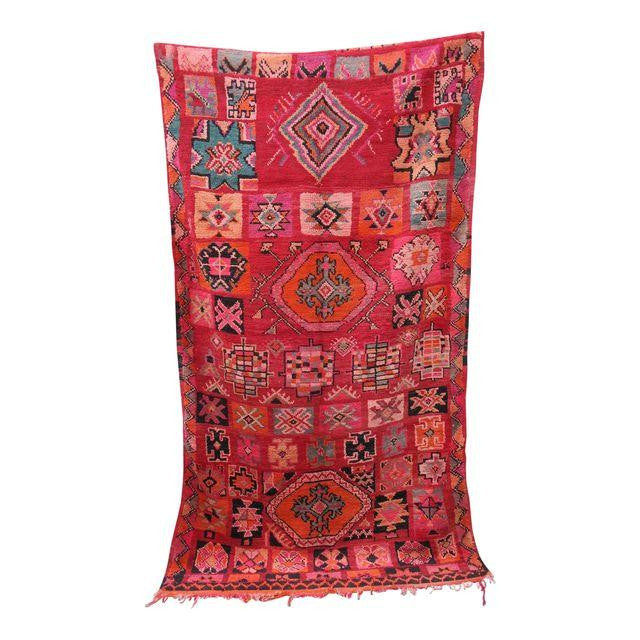 'Red City Riad'  Vintage Moroccan Beni Mguild - Maven Collection