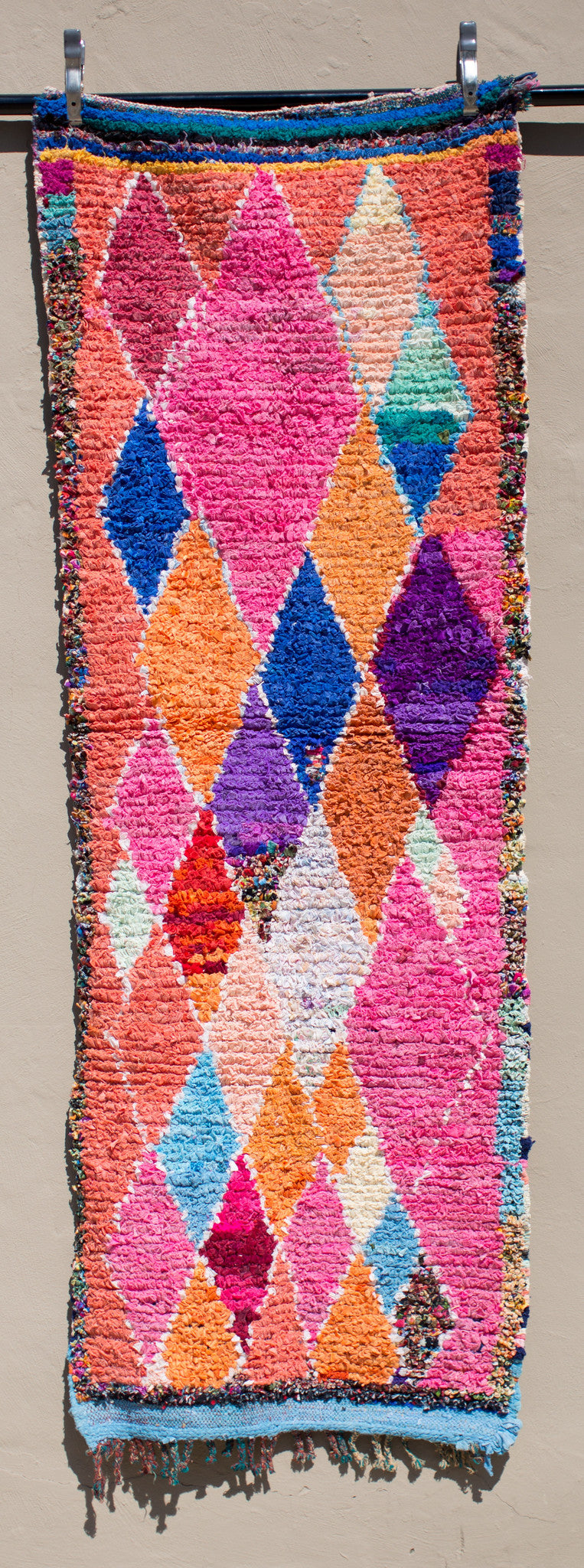 'THE NEIL'  BOUCHEROUITE RAG RUG - Maven Collection