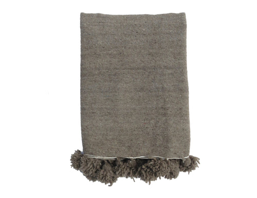 'DR. GREY' BERBER WOOL BLANKET - Maven Collection