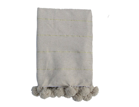 'Blanc' Moroccan Wedding Blanket