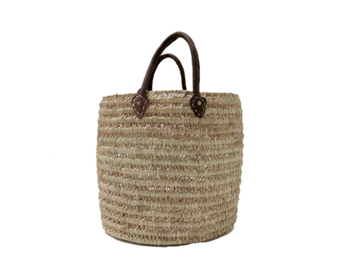 'SOUK SHOPPING'  WOVEN BASKET - Maven Collection