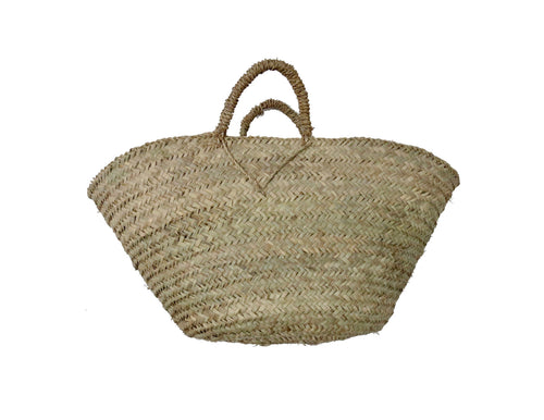 'To Market'  Woven Basket - Maven Collection