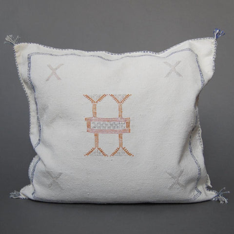 'Hazel'  Moroccan Sabra Silk Pillow
