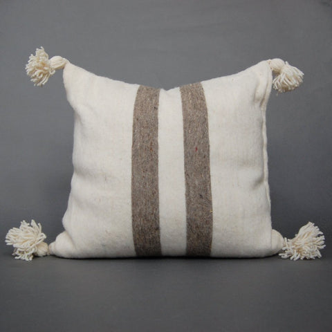 'JEBALA' BERBER WOOL PILLOW