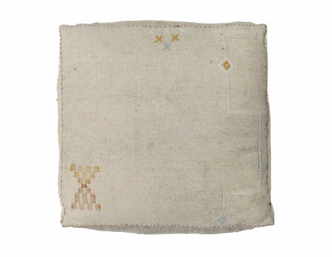 'Malibu Sky' Moroccan Floor Pillow