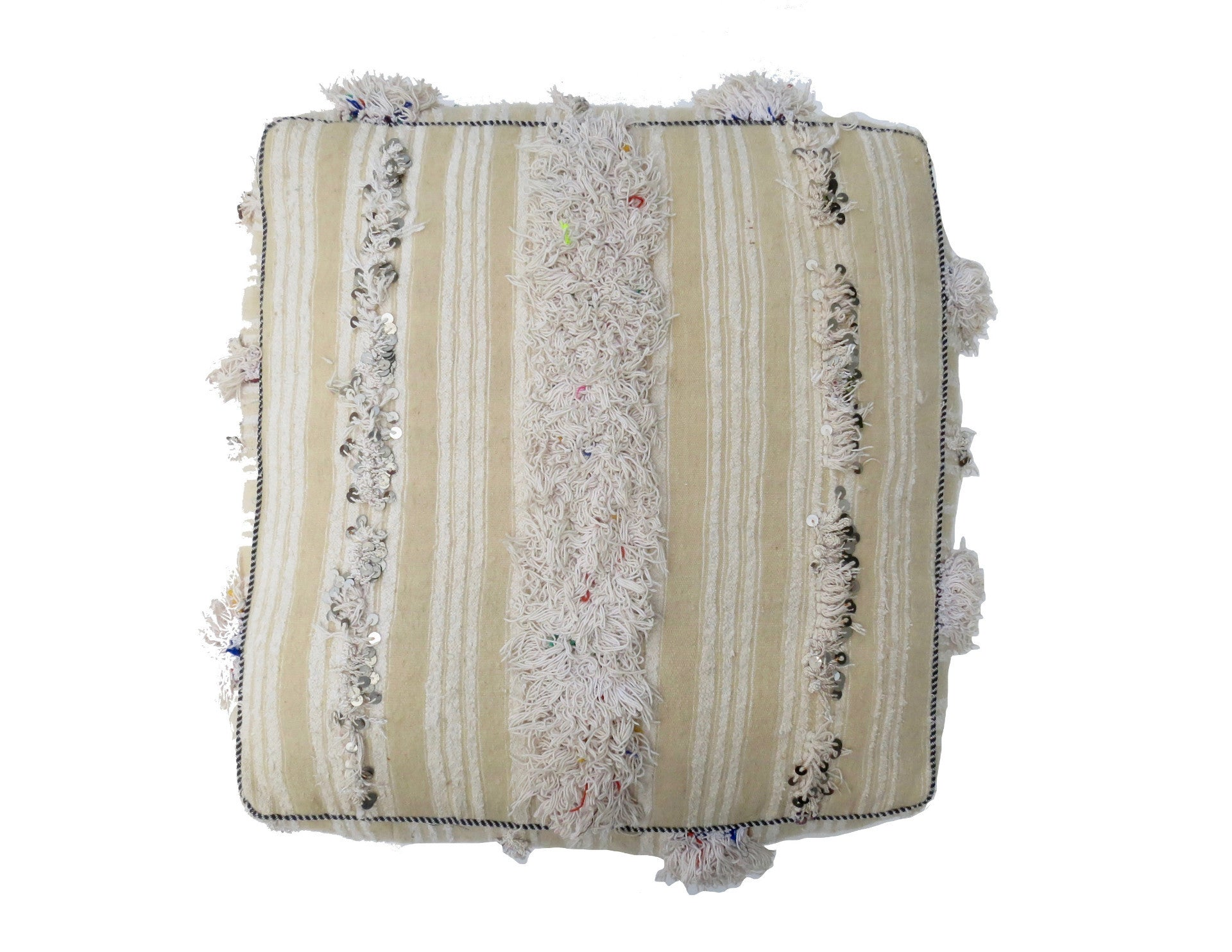 'Marriage Bliss'  Moroccan Floor Pillow - Maven Collection
