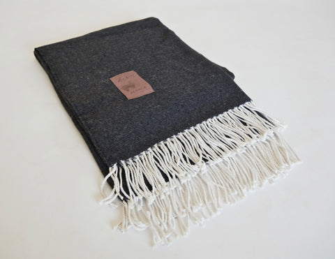 'Noir' Moroccan Wedding Blanket