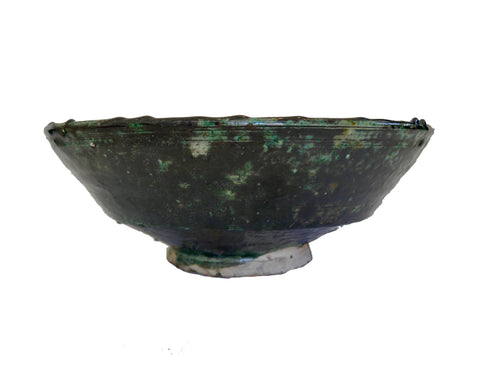 Tamegroute Pottery - Black Bowl