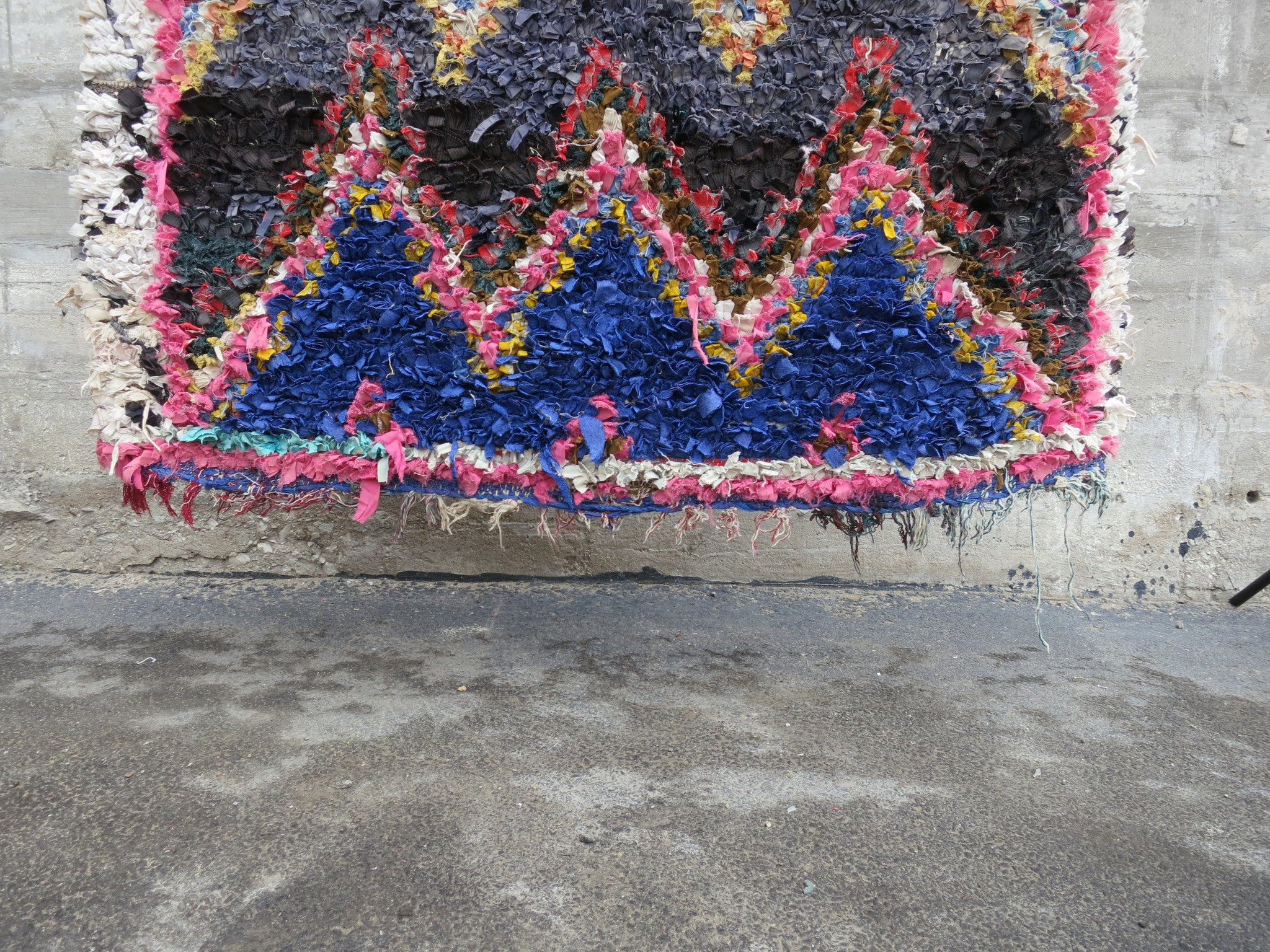 'SANTA MONICA'  BOUCHEROUITE RAG RUG - Maven Collection