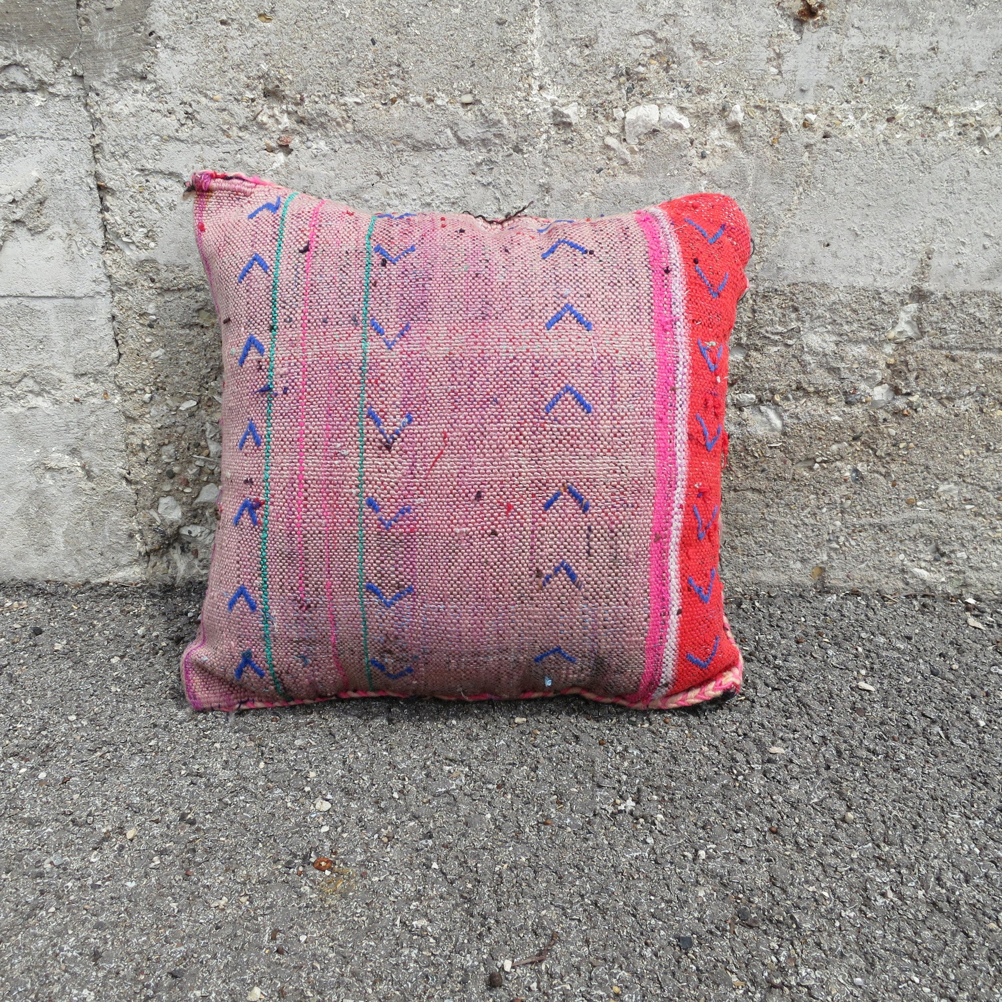 'NOT A PROSAIC MOSAIC' BERBER WOOL PILLOW - Maven Collection
