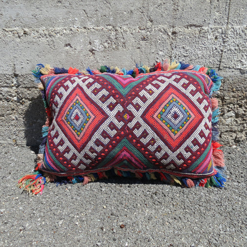 'FRINGY' BERBER WOOL PILLOW - Maven Collection