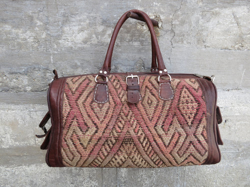 'APRIL MAUDE'  MOROCCAN KILIM BAG - Maven Collection