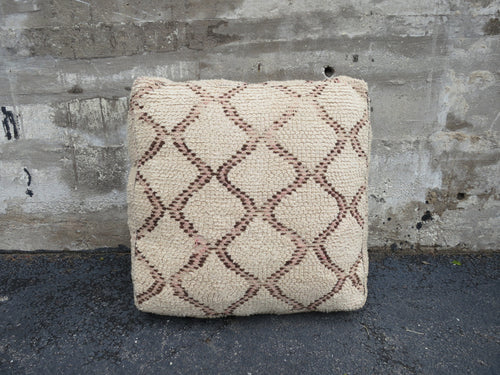'LATTICE'  MOROCCAN FLOOR PILLOW - Maven Collection