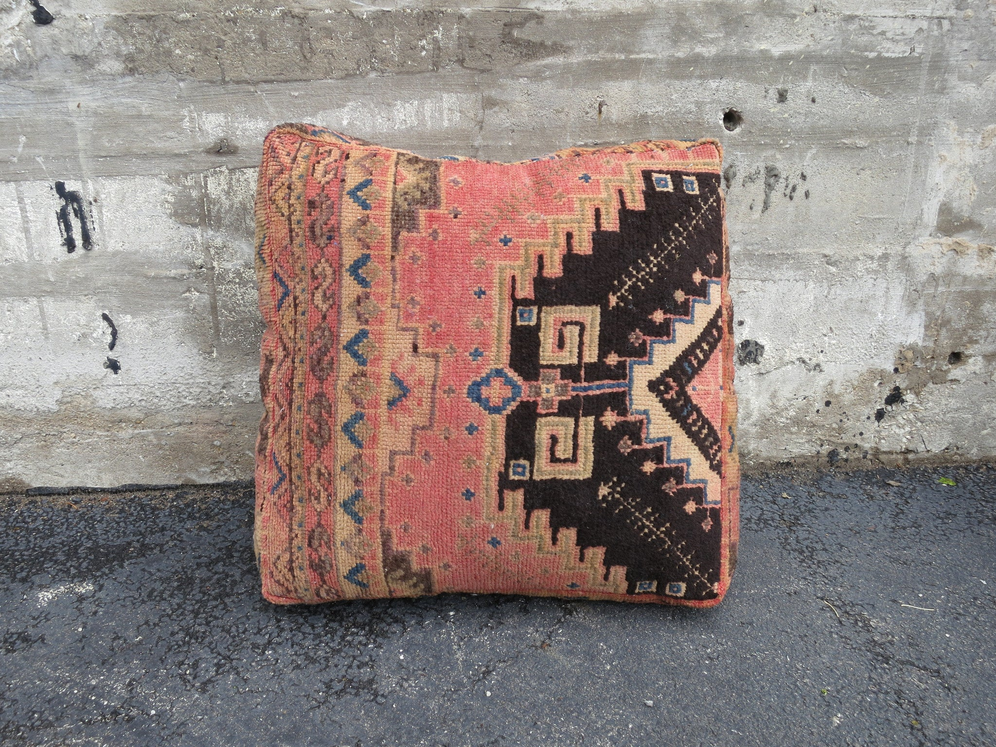 'BAREFOOT IN BARCELONA'  MOROCCAN FLOOR PILLOW - Maven Collection