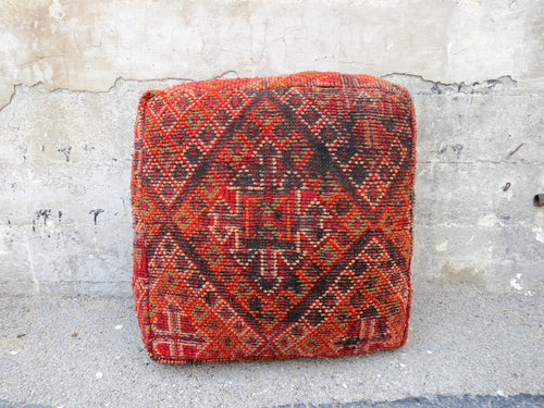 'APOTHECARY'  MOROCCAN FLOOR PILLOW - Maven Collection