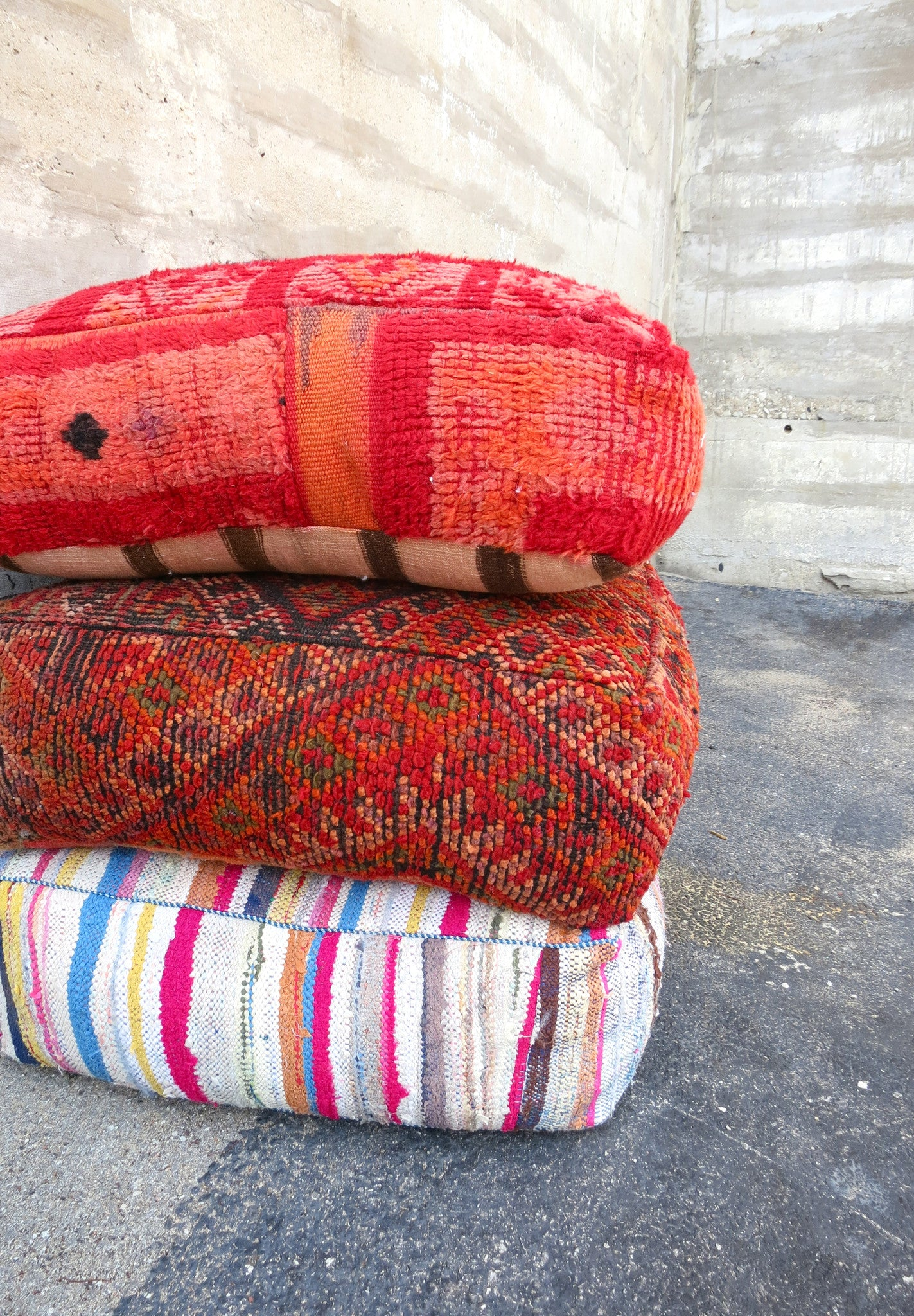 'APOTHECARY'  MOROCCAN FLOOR PILLOW