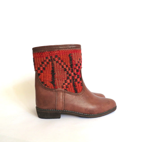 'GEOMETRIC'  KILIM BOOTS - Maven Collection