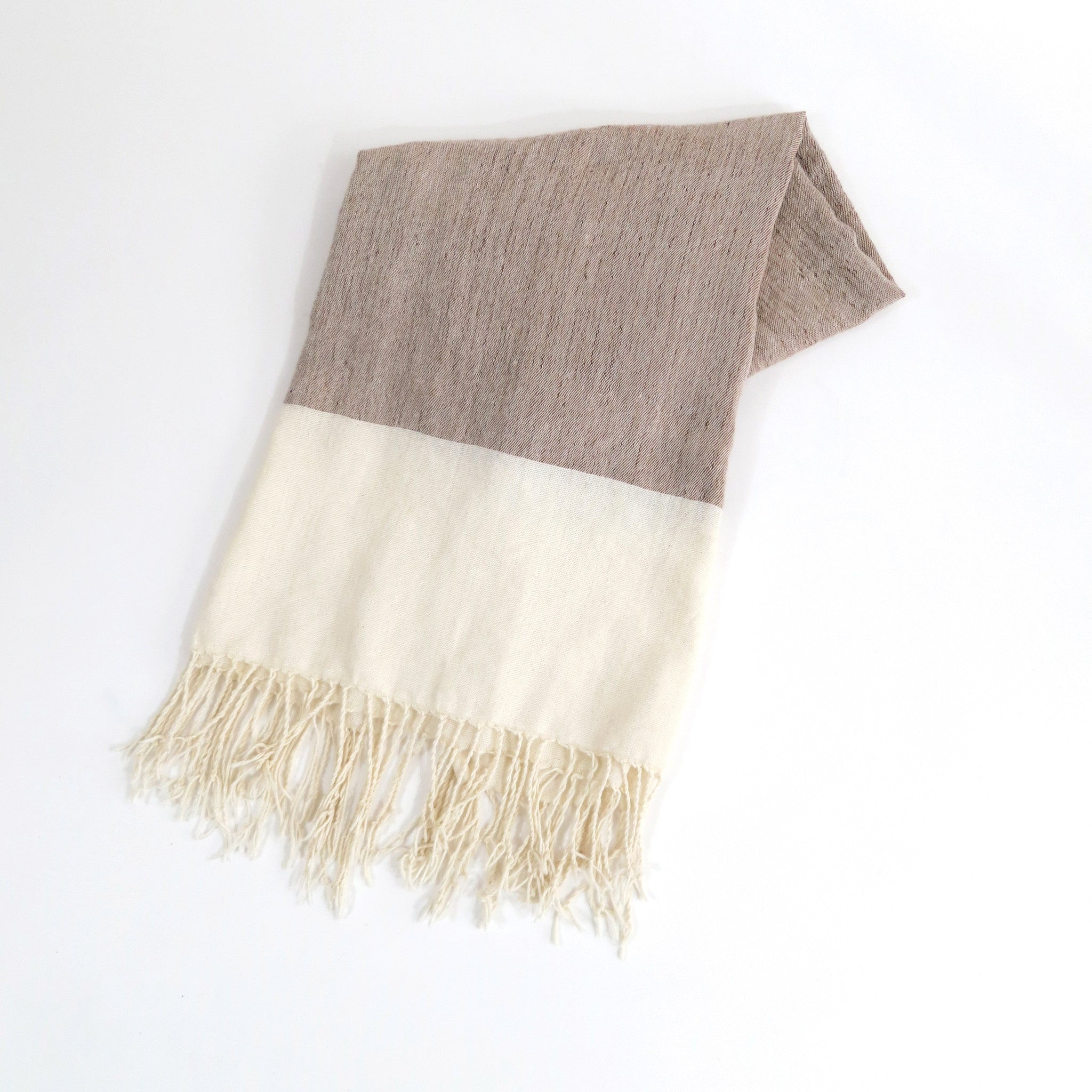 'CAMPFIRE'   WOVEN MOROCCAN SCARF - Maven Collection