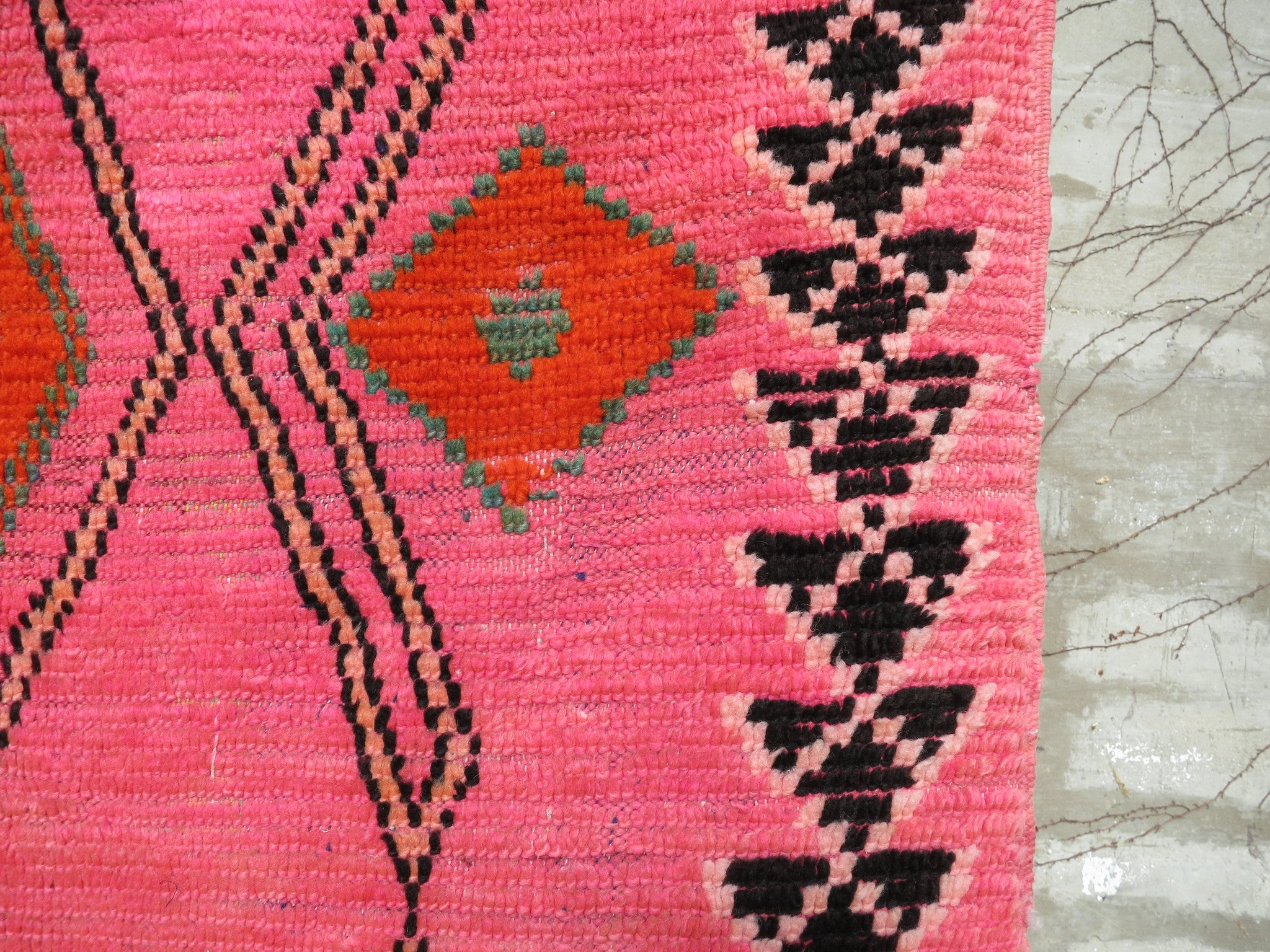 'TANGIER PINK'  AZILAL RUG - Maven Collection