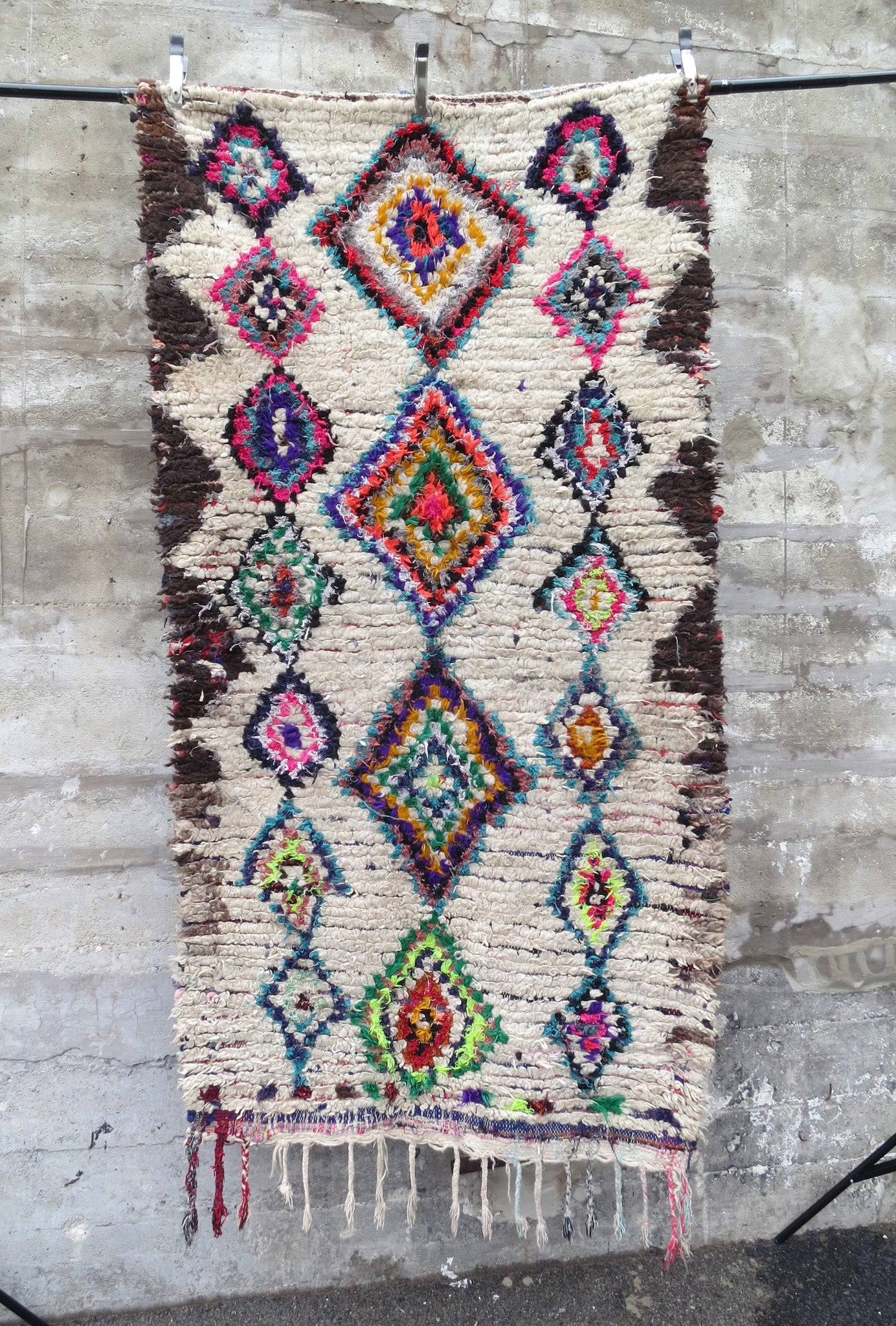 'La Banana' Vintage Moroccan Azilal Wool Rug - Maven Collection