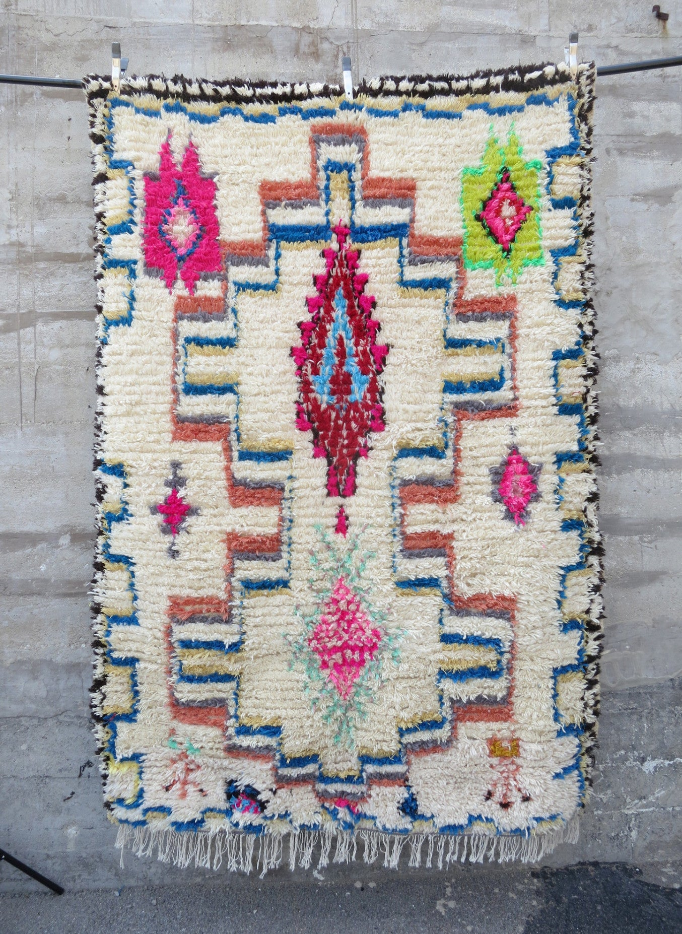 'Have I Told You Lately That I Love You'  Moroccan Azilal Rug - Maven Collection