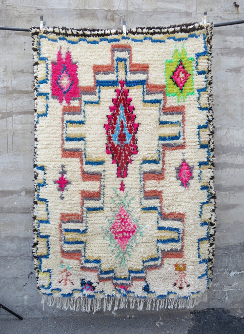 'Have I Told You Lately That I Love You'  Moroccan Azilal Rug