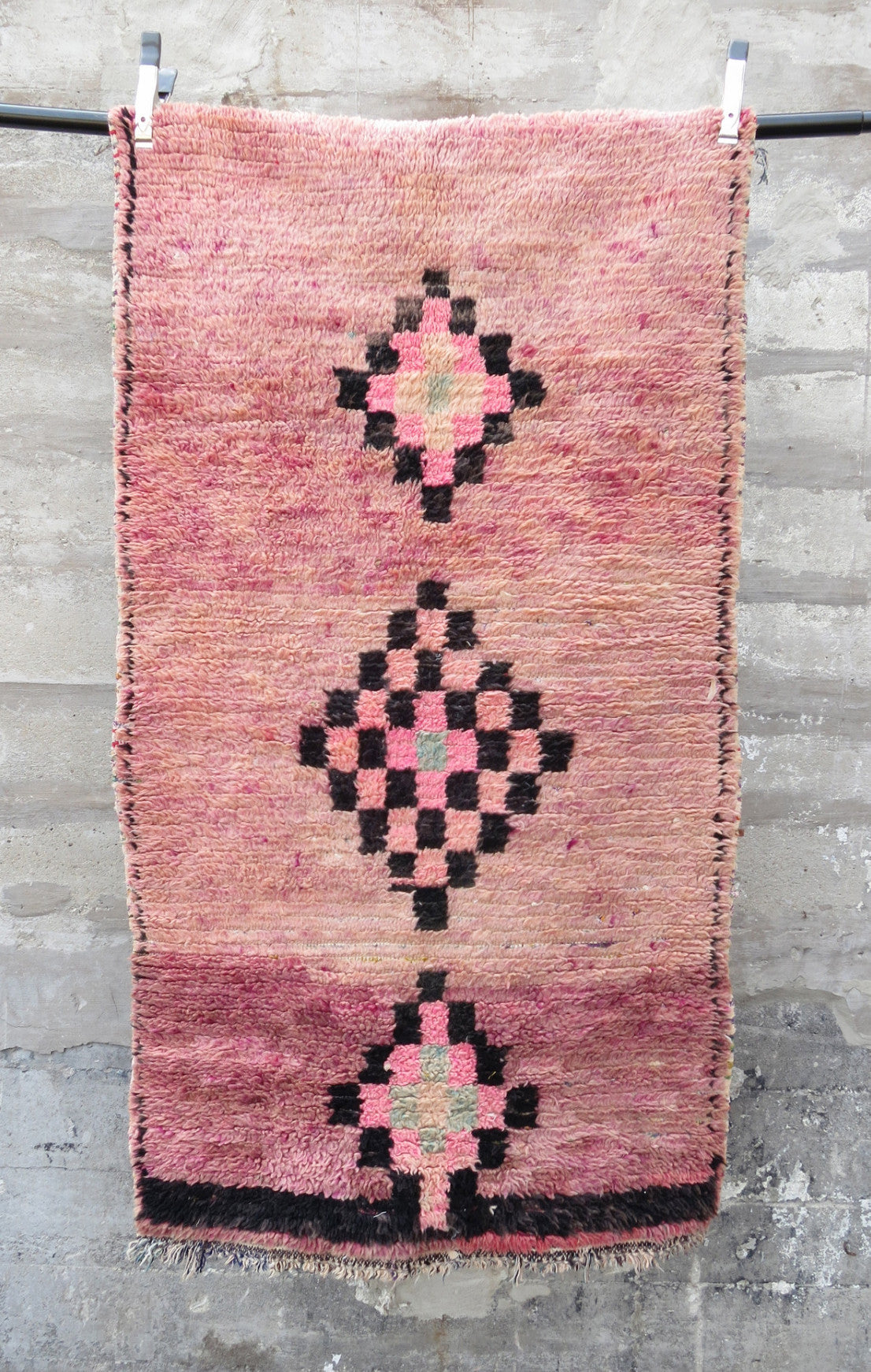 'Fading Away' Vintage Moroccan Azilal Rug - Maven Collection