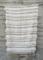 'Rouille' Vintage Handira Wedding Blanket - Maven Collection