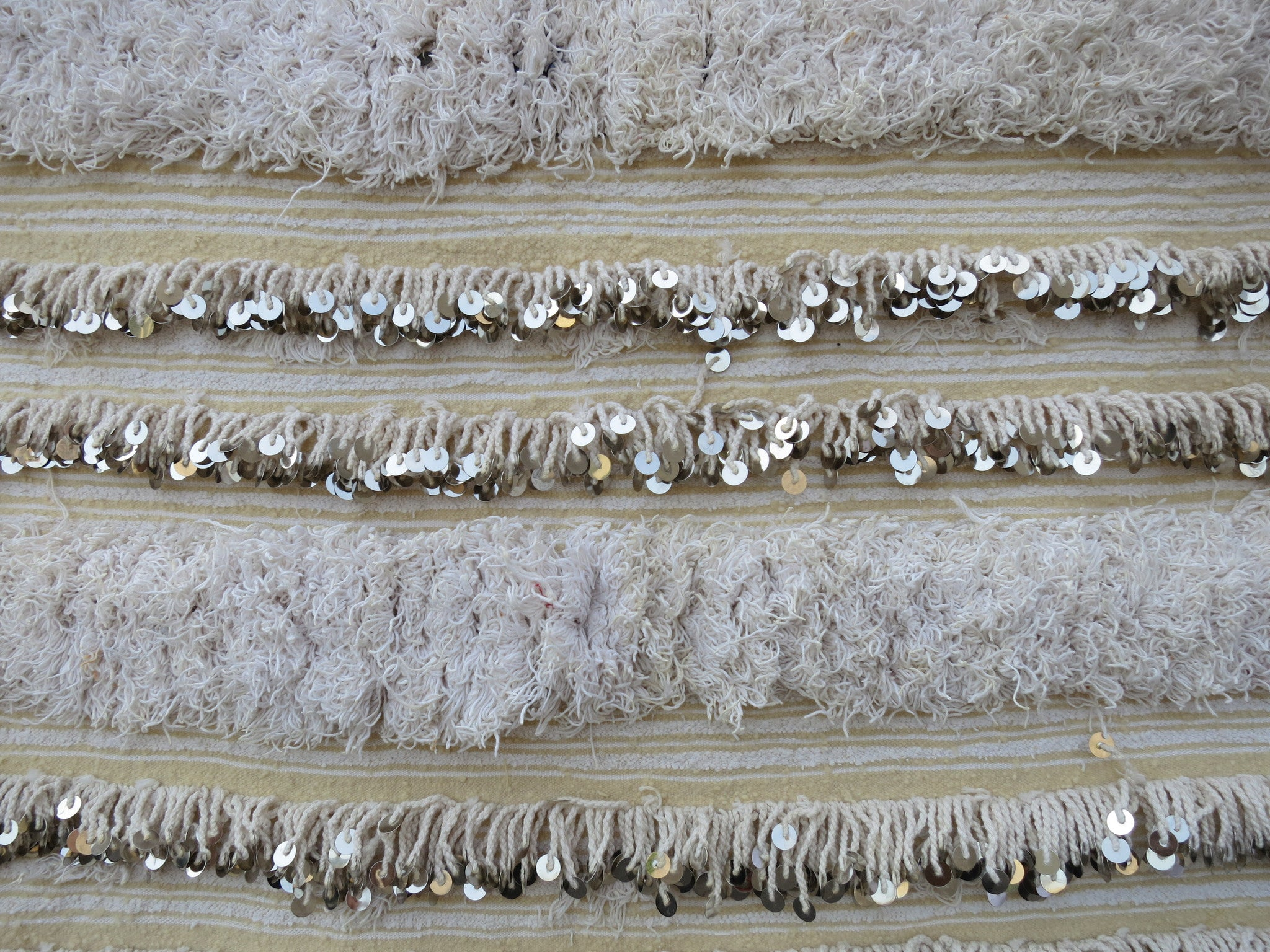'Layered Cake' Vintage Handira Wedding Blanket - Maven Collection