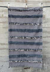 'Gris' Moroccan Wedding Blanket - Maven Collection