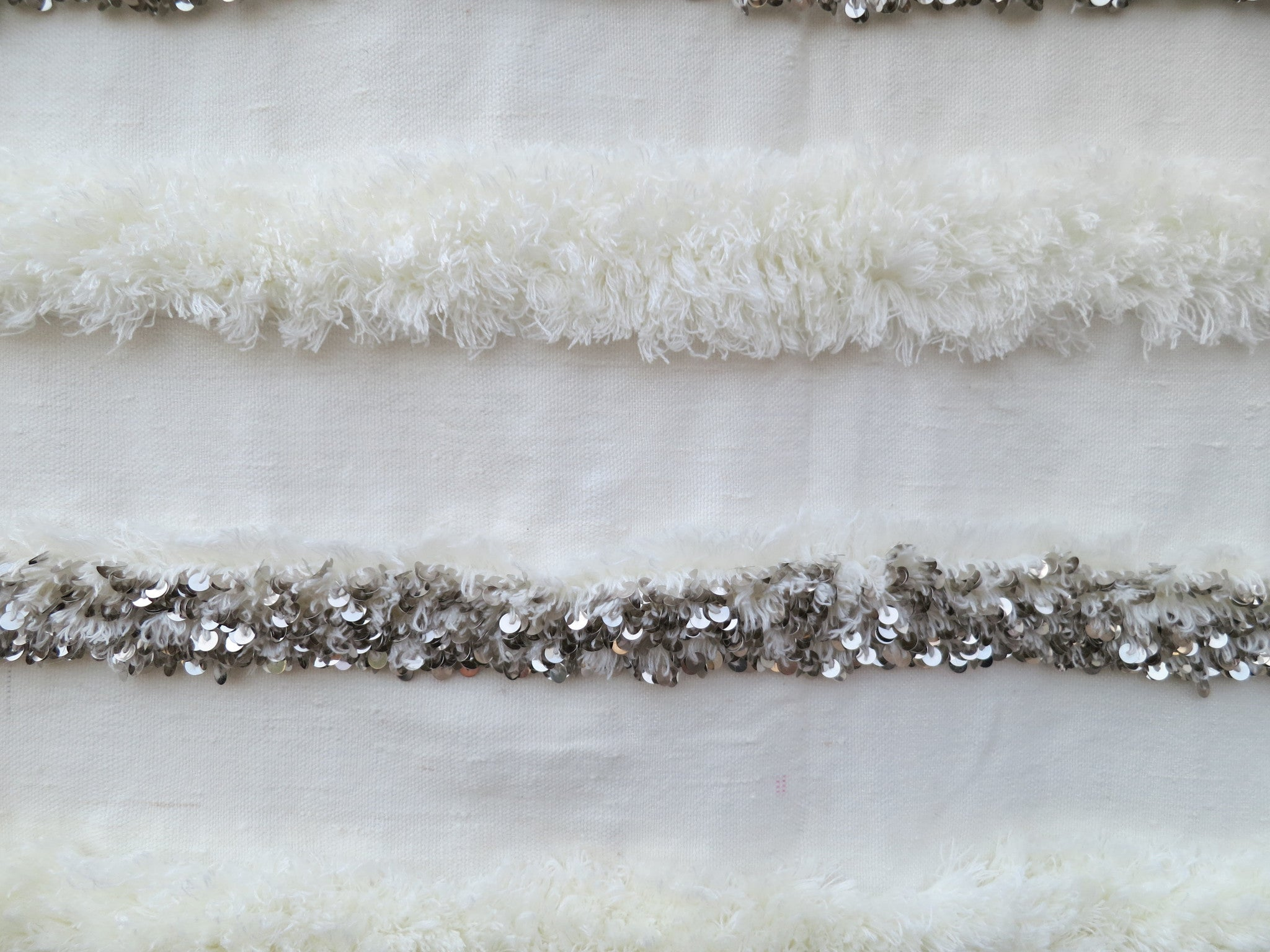 'Blanc' Moroccan Wedding Blanket - Maven Collection