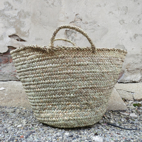 'To Market'  Woven Basket