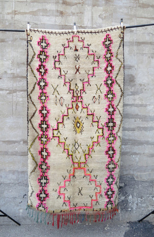 'THE NEIL'  BOUCHEROUITE RAG RUG
