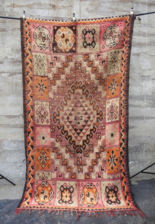 'Dulce De Leche' Vintage Berber Rug - Maven Collection